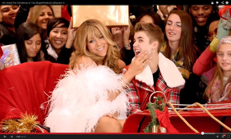 All I Want For Christmas Is You (Superfestive!) Justin Bieber Duet With Mariah Carey